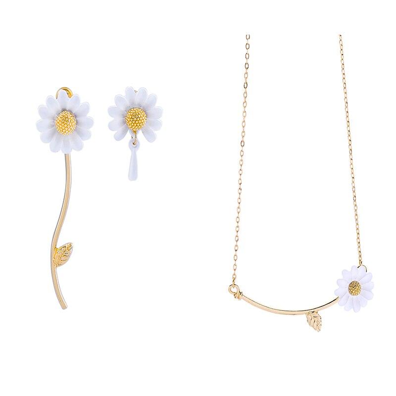 Fashion accessories asymmetric earrings enamel alloy earrings